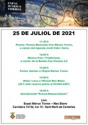 25 JULIOL 2021